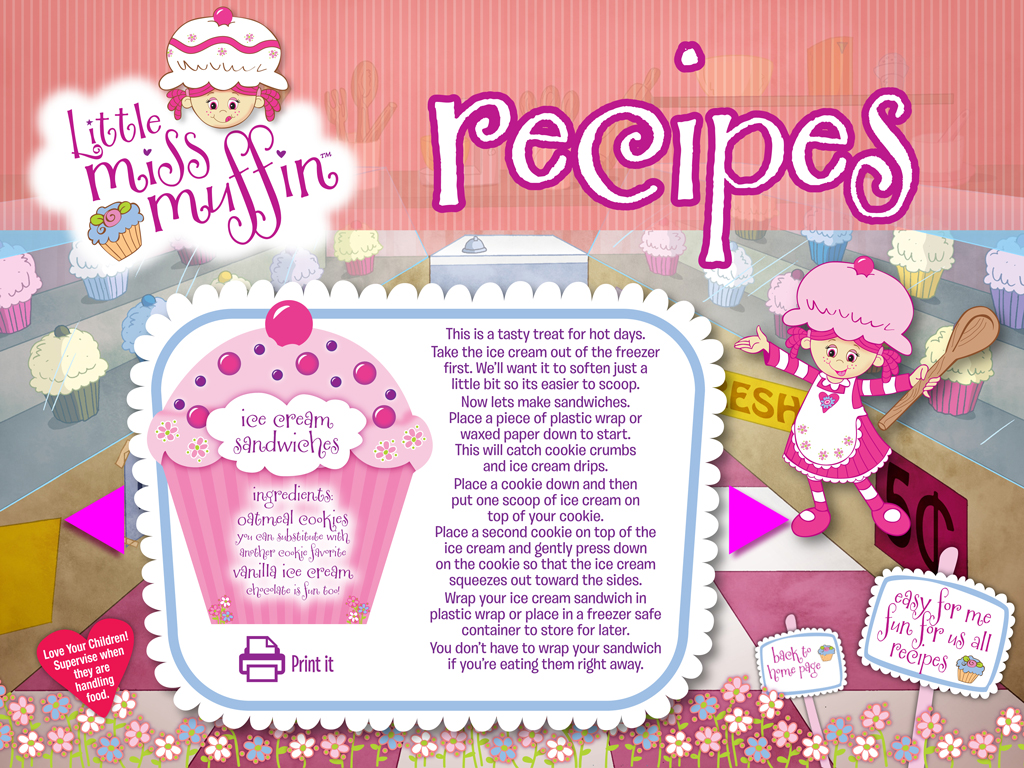 Little Miss Muffin Dolls Chocolate Covered Cookies Recipe